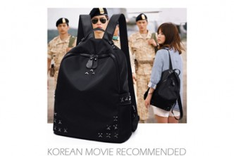[Rivet Nylon Backpack @ 76% Savings!] B$11.9 instead of B$49.8 for a unit of Rivet Nylon Double STraps Backpack - Black, Redemption at SD HQ, Gadong.
