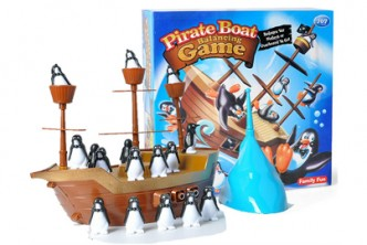 Rock your game not your boat! [ Boat Balancing Game @ 25% Savings!] B$12 instead of B$16 for a unit of Pirate Boat Balancing Game , redemption at SD HQ, Gadong.