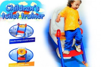 [Foldable Toilet Training Kit with Ladder @ 71% Savings!] B$25 instead of B$87 for a unit of Foldable Toilet Training Kit with Ladder. Redemption at SD HQ, Gadong.