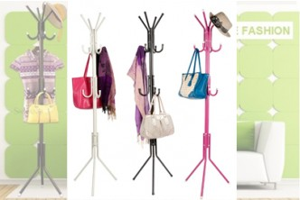 [12 Hooks Hanging Pole @ 70% Savings!] B$14.9 instead of B$49 for a unit of 12 Hooks Hanging Pole. Redemption at SD HQ, Gadong.