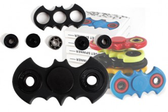 *Colours subject to availability [Batman Fidget Spinner @ 69% Savings!] B$5.9 instead of B$19 for a unit of Batman Fidget Spinner. Redemption at SD HQ, Gadong