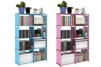 [5 Tier DIY Book Storage @ 77% Savings!] B$25 instead of B$109 for a unit of Korean DIY Book Storage 5 Tier with 8 Columns . Redemption at SD HQ, Gadong