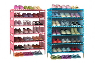 [6 Tier Shoe Rack @ 77% Savings!] B$22.9 instead of B$99 for a unit of Korean 6 Tier Shoe Rack . Redemption at SD HQ, Gadong