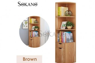 [Sokano Corner Book Shelf @ 38% Savings!] B$99 instead of B$160 for a unit of Sokano Corner Book Shelf. Redemption at SD HQ, Gadong.