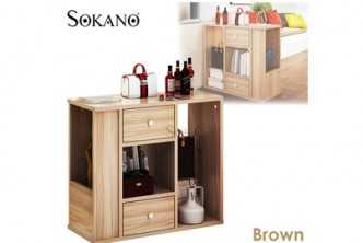 [Sokano Wooden Side Table @ 45% Savings!] B$109 instead of B$199 for a unit of Sokano Wooden Side Table. Redemption at SD HQ, Gadong.
