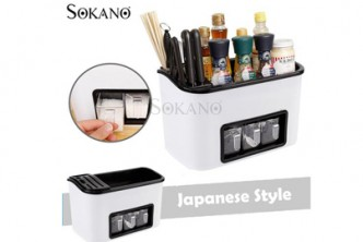 [Sokano Japanese Style Seasoning Rack @ 45% Savings!] B$23.9 instead of B$43 for a unit of Sokano Japanese Style Seasoning Rack. Redemption at SD HQ, Gadong.