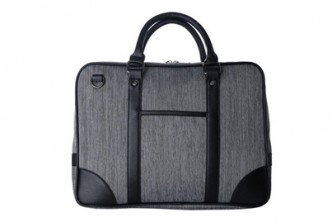 [Grey Sokano Canvas Briefcase @ 62% Savings!] B$29.9 instead of B$79 for a unit of Sokano Canvas Briefcase at SD HQ, Gadong.