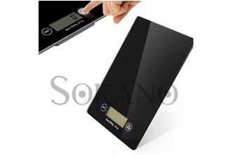 [Glass Kitchen Scale w LCD @ 64% Savings!] B$18 instead of B$50 for a unit of Electronic Kitchen Scale at SD HQ, Gadong.