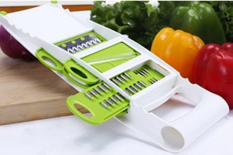 [5in1 Vegetable Fruit Cutter @ 72% Savings!] B$11 instead of B$39.9 for a unit of 5in1 Adjustable Multifunction Vegetable Fruit Cutter. Redemption at SD HQ, Gadong.