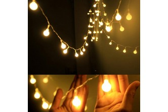 [4m 40 LED Home Decorations LED String Lights (Yellow) @ 66% Savings!] B$10 instead of B$29 for a unit of 4 Metres 40 LED Home Decorations LED String Lights (Yellow). Redemption at SD HQ, Gadong.