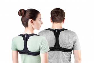 Product from UK*[Back, Shoulder, and Neck Pain Relief @ 58% Savings!] B$29 instead of B$69 for a unit of Posture Corrector Brace for Spinal Support. Redemption at SD HQ, Gadong.