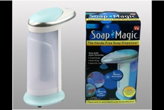 [Automatic Soap Dispenser @ 80% Savings!] B$10 instead of B$50 for a unit of Complete Hygiene Combo Set : Innovative Infrared Sensor Soap Dispenser. Redemption at SD HQ, Anggerek Desa /  D2D Delivery (B$2 charge)