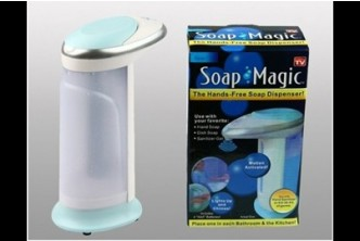 [Automatic Soap Dispenser @ 80% Savings!] B$10 instead of B$50 for a unit of Complete Hygiene Combo Set : Innovative Infrared Sensor Soap Dispenser. Redemption at SD HQ, Gadong