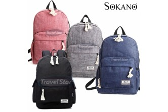 [Korean Backpack With USB Port @ 66% Savings!] B$19.9 instead of B$59 for a unit of Korean Backpack With USB Port. Redemption at SD HQ, Gadong