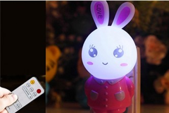 [SOKANO Little Rabbit Light with Remote @ 64% Savings!] B$13.90 instead of B$39 for a unit of SOKANO Little Rabbit Night Light with Remote Control (Light / Timer Adjustment). Redemption at SD HQ, Anggerek Desa
