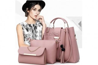 [3IN1 Large Capacity European Tote Bag @ 46% Savings!] B$28.9 instead of B$53.5 for a unit of Luxury Tote Bag (Set Of 3) at SD HQ, Gadong.