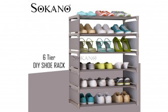[6 Tier Shoe Rack @ 77% Savings!] B$16.9 instead of B$39 for a unit of 6 Tier DIY Shoe Rack . Redemption at SD HQ, Gadong