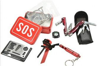 [6IN1 Emergency Survival Kit @ 66% Savings!] B$13 instead of B$38 for 6 in 1 SOS Emergency Box Outdoor Survival Kits. Redemption at SD HQ, Gadong