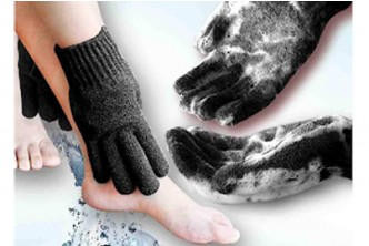 U.S. Deal [Home Spa HEAVY Exfoliating gloves @ 40% Savings!] B$29 instead of B$48 for a unit of Home Spa HEAVY Exfoliating gloves for deep clean dead skin and Improves blood circulation. Redemption at SD HQ, Gadong.