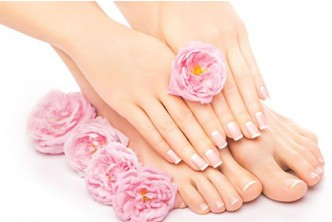 NEW YEAR'S SPECIAL [5in1 Hand & Feet Pamper session @ 61% Savings!] B$15 instead of B$38 for Manicure + Pedicure + Color + Foot Spa + Foot Massage at Oxygen Salon, Delima Square.