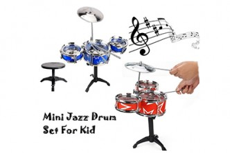 [SOKANO Mini Jazz Drum @53% Savings!] B$15 instead of B$32 for a unit of SOKANO Mini Jazz Drum Set. Redemption at SD HQ, Gadong.