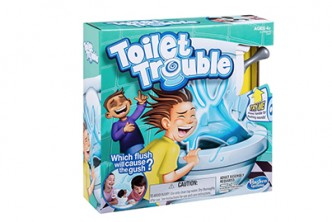 From The U.S.*[Hasbro Games Toilet Trouble @ 50% Savings!] B$42 instead of B$78 for a unit of Hasbro Games Toilet Trouble. Redemption at SD HQ, Gadong.