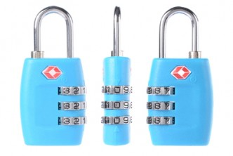 *Colour subject to availability* [2x TSA Lock @ 59% Savings!] B$9 instead of B$22 for 2x TSA Resettable 3 Digit Combination Safe Travel Luggage Suitcase Code Lock. Redemption at SD HQ, Gadong