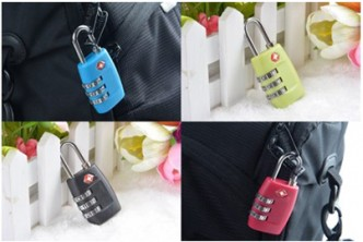 *Colour subject to availability* [TSA Resettable 3 Digit Code Lock @ 74% Savings!] B$6.9 instead of B$27 for a unit of TSA Resettable 3 Digit Combination Safe Travel Luggage Suitcase Code Lock. Redemption at SD HQ, Anggerek Desa
