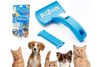 [Pet's Spray and Brush @ 72% Savings!] B$18 instead of B$65 for a unit of PetZoom Self Spray Cleaning Grooming Brush. Redemption at SD HQ, Gadong
