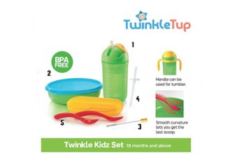 [For TW Members ONLY] Twinkle Kidz Set. Collection at sD HQ/D2D Delivery including Seria/Kuala Belait, Tutong & Brunei-Muara! Refer to Fine Print for Terms and Conditions!
