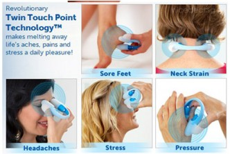 [U-Touch Massager @ 77% Savings!] B$8.9 instead of B$38 for a unit of uTouch Massager. Redemption at SD HQ,Gadong.