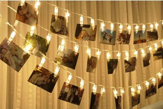 [20 LED Photo Clip Light Decor @ 54% Savings!] B$13 instead of B$28 for a unit of 20 LED Clip String Battery-Operated Light Decor. Redemption at SD HQ, Gadong