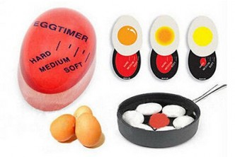 U.S. Deal [Innovative Color Changing Egg Timer @ 51% Savings!] B$24 instead of B$49 for a unit of Heat Sensitive Hard/Medium/Soft Boiled Egg Timer Perfect Kitchen Egg Timer Tool. Redemption at SD HQ, Gadong.