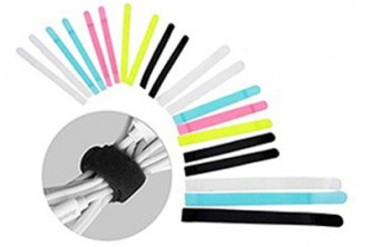U.S. Deal [Reusable Cord @ 45% Savings!] B$16 instead of B$29 for a set of 10 Cord Organizer Holder Fastening Cable Tie Straps . Redemption at SD HQ, Gadong.