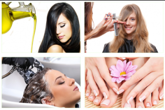 [7In1 Pamper Package @ 79% Savings!] B$25 instead of B$120 for a session of  Hair Hot Oil + Hair Cut + Hair Wash +Foot Spa + Mani + Pedi + Color at Diana Hairdressing & Beauty Salon, Menglait.