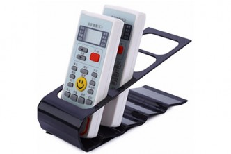 [Remote Control Organizer @ 40% Savings!] B$6 instead of B$10 for a unit of Remote Control Organizer Stand (Black). Redemption at SD HQ, Gadong.