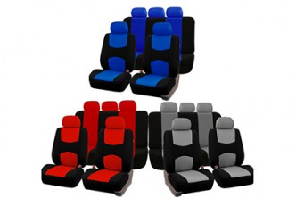 [Universal Car Seat Cover @ 49% Savings!] B$35 instead of B$68 for a set of Universal 9pcs Car Seat Cover Set Front & Rear. Redemption at SD HQ, Gadong.