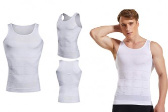 From U.S.* [Mens' Slimming Vest @ 42% Savings!] B$29 instead of B$50 for a unit of Mens' Slimming Vest. Redemption at SD HQ, Gadong.