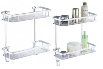 [2 Tier Wall Rack @ 71% Savings!] B$12.9 instead of B$45 for a unit of 2-Tier Aluminium Wall Mounted Rack. Redemption at SD HQ, Gadong