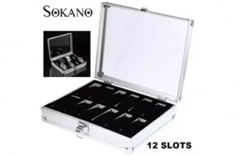 [SOKANO 12 Slot Watch Jewellery Storage Box @ 51% Savings!] B$22 instead of B$45 for a 12 Slot Watch Jewellery Storage Container Box. Redemption at SD HQ, Gadong.