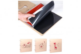 [DIY Wooden Photo Album @ 53% Savings!] B$18.9 instead of B$39.9 for a unit of SOKANO Premium Wooden Cover DIY Photo Album , Redemption at SD HQ, Gadong.