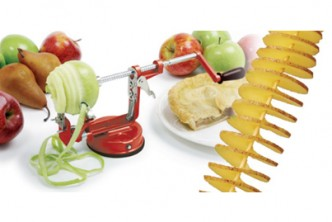 [Apple Peeler @ 69% Savings!] B$13.9 instead of B$45 for a unit of Apple Peeler / Corer / Slicer. Redemption at SD HQ, Anggerek Desa