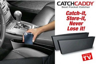 Sold Out* [2 Catch Caddy @ 74% Savings!] B$10 instead of B$38 for a unit of Set of 2 ASOTV Catch Caddy Car Organizer. Redemption at SD HQ, Anggerek Desa