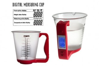 [Digital Measuring Cup @ 66% Savings!] B$22 instead of B$65 for a unit of Digital Measuring Cup. Redemption at SD HQ, Anggerek Desa