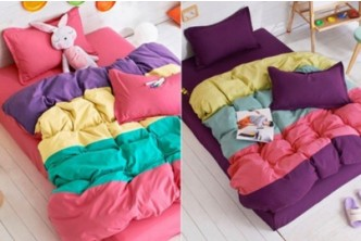 [Good Night Sleep @ 70% Savings!] B$45 instead of B$149 for a unit of 4-Piece 780TC Duvet Cover & Bed Sheet Set. Redemption at SD HQ, Anggerek Desa