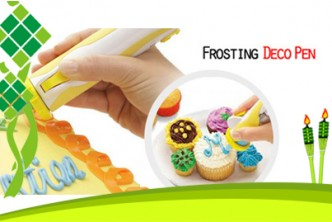 Raya Deal* [Frosting Deco Pen @ 67%] B$13 instead of B$39 for a unit of Frosting Deco Pen for Decorative Cakes & Cookies. Redemption at SD HQ, Anggerek Desa