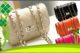 Raya Deal* [Quilted Bag @ 84% Savings!] B$8 instead of B$49 for a unit of Quilted Handbag. (Colors Avail: Red, Orange, Beige & Black) Redemption at SD HQ, Anggerek Desa