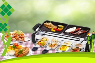 Raya Deal* [Electric BBQ Grill @ 73% Savings!] B$45 instead of B$168 for a unit of Electric BBQ Grill with Non-Stick Pans. Redemption at SD HQ, Anggerek Desa