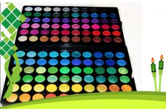 Raya Deals* [120 Piece Eye Shadow Palette @ 87% Savings!] B$19 instead of B$147 for a unit of 120 Piece Make Up And Eye Shadow Palette from The UK. Redemption at SD HQ, Anggerek Desa