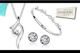 *Swarovski Fever* [Swarovski Elements Crystal Tri Set @ 92% Savings!] B$18 instead of B$219.90 for a unit of Crystal Bangle Tri Set. (Swarovski Elements) Redemption at SD HQ, Anggerek Desa